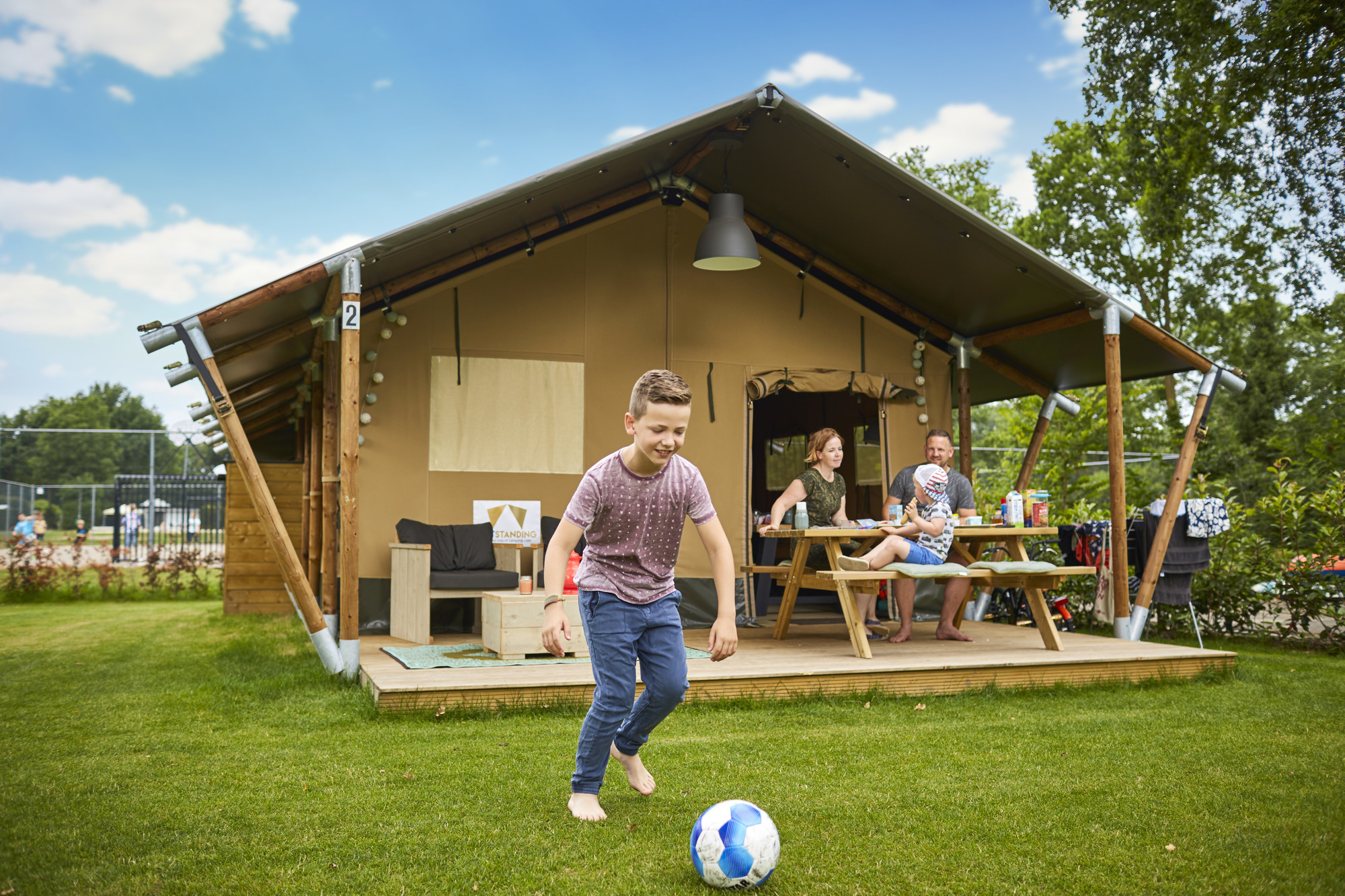 5-Persoons Glamping Tent